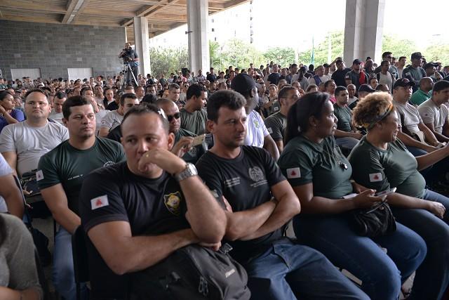Comissão de Segurança Pública realizou audiência, nesta quinta-feira (10), no Espaço Democrático José Aparecido de Oliveira