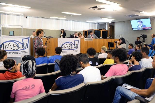 Comissão propôs audiência dos alunos com o governador
