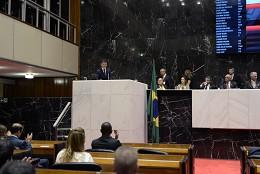 Reunião especial - Posse dos membros da Mesa da Assembleia para o 2º biênio da 18ª Legislatura