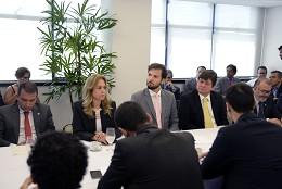 Reunião para escolha da liderança da Maioria