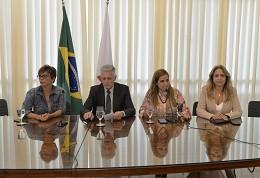 Reunião da Mesa com a bancada feminina