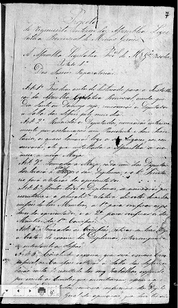 Registros contam a história da Assembleia Legislativa Provincial, instalada em 1835