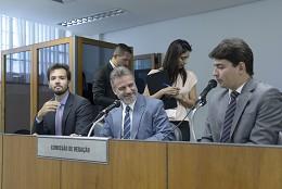 Comissão de Redação - eleição de presidente e vice
