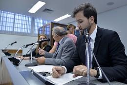 Comissão Especial Indicação de Djaniro Silva para o Cargo de diretor-geral do Deer-MG - eleição de presidente e vice