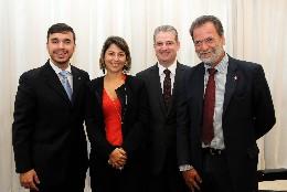Visita oficial da consulesa italiana à ALMG