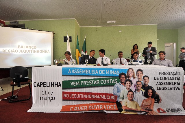 Mais investimentos na saúde, em estradas e em saneamento foram destaques na reunião de prestação de contas em Capelinha