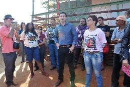 Comissões de Participação Popular, de Assuntos Municipais e Regionalização e de Direitos Humanos - visita às ocupações urbanas Rosa Leão, Esperança e Vitória
