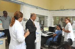 Comissão de Saúde - visita ao Hospital Júlia Kubitschek