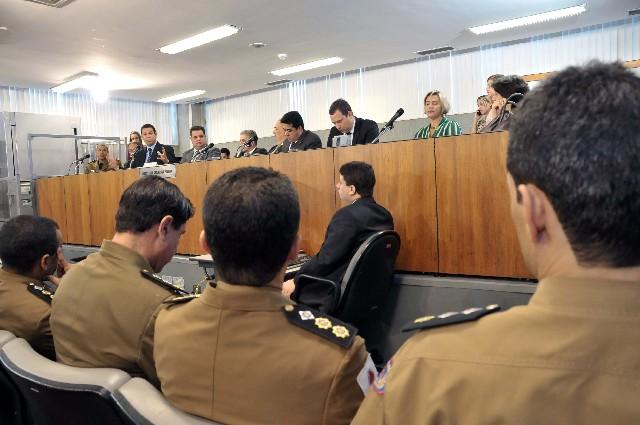 Objetivo de audiência pública da Comissão de Segurança Pública foi realizar o Monitoramento de Políticas Públicas 2013