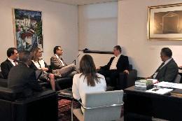 Diretoria da Rede Minas visita a ALMG