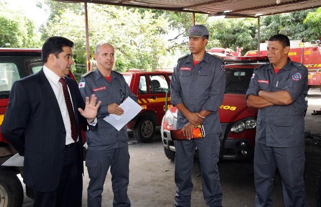 Segundo o deputado Sargento Rodrigues, um dos problemas estruturais do 3° Batalhão é que sua frota de viaturas está subutilizada
