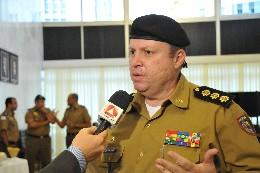 Diretoria de Meio Ambiente e Trânsito da Polícia Militar - homenagem ao presidente da ALMG