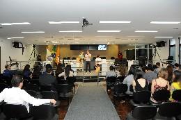 Plenária regional do Parlamento Jovem de Minas em Divinópolis