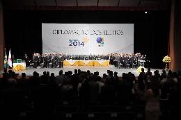 Sessão Solene de diplomação dos eleitos em 2014 no Estado de Minas Gerais