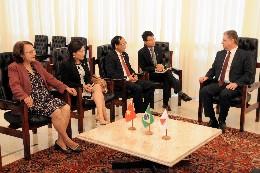 Visita oficial do embaixador do Vietnã à ALMG