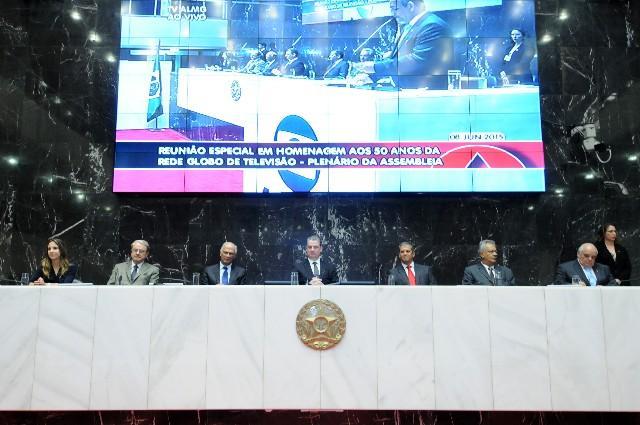 A reunião contou com a presença do presidente da ALMG, deputado Adalclever Lopes, e de autoridades como o vice-governador de Minas, Antônio Andrade