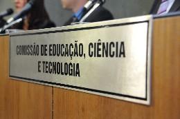 Comissão de Educação, Ciência e Tecnologia - debate sobre a construção do prédio da Escola Estadual Alberto Delpino