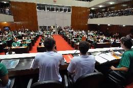 O Parlamento Jovem de Minas é dirigido a estudantes do ensino médio e de nível superior. Em 2015, na 12ª edição, o tema foi Segurança Pública e Direitos Humanos