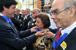 Solenidade de entrega da Medalha Santos Dumont