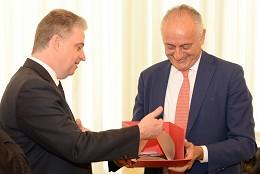 Visita oficial do embaixador da Itália à ALMG