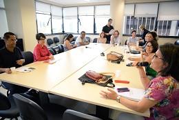 Reunião de representação - Fórum Técnico do Plano Estadual de Cultura