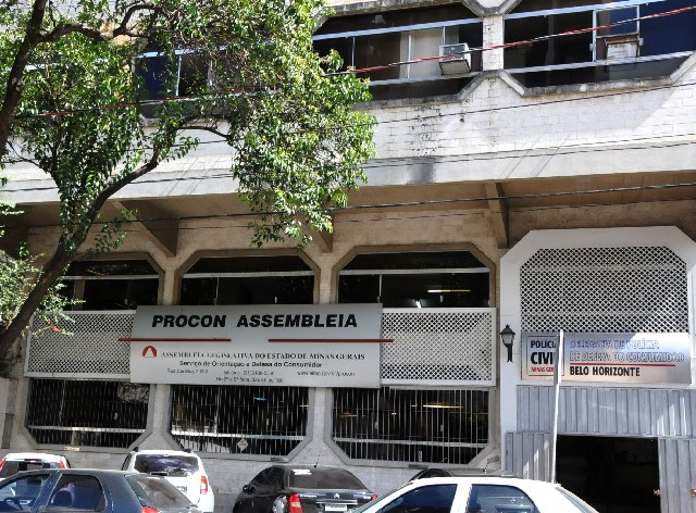 Fachada do Procon Assembleia