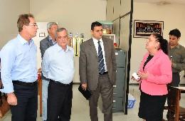 Comissão de Educação, Ciência e Tecnologia - visita à Apae de Pará de Minas