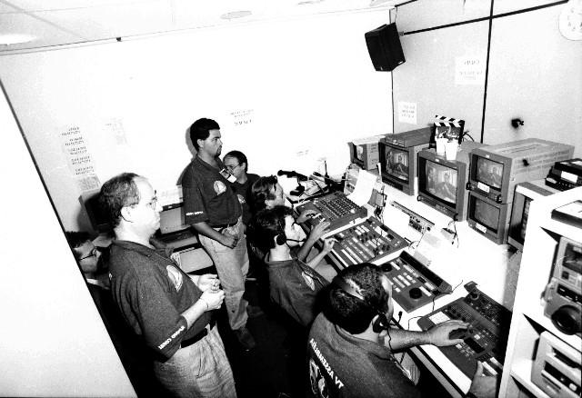 TV Assembleia na cobertura das eleições de 1998