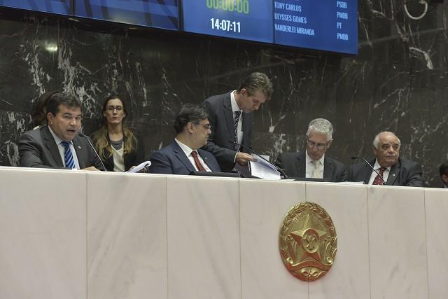 A Assembleia de Minas tem um prazo de 30 dias, contados desta quarta (1°), para analisar os vetos do governador