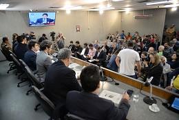 Comissão de Segurança Pública - debate sobre fechamento de batalhões da PM