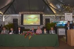 Comissão de Agropecuária e Agroindústria visita a Associação dos Fornecedores de Cana da Região de Campo Florido - Canacampo - durante a 9ª Canacampo Tech Show