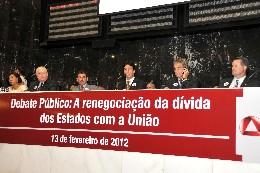 Presidentes das Assembleias do Sudeste assinaram a Carta de Minas, que reúne propostas para reduzir a dívida com a União