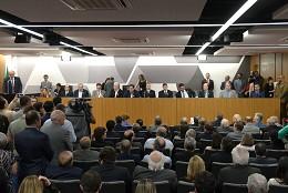 Inauguração do Auditório José Alencar Gomes da Silva