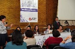 As participantes do evento defenderam maior participação feminina nos espaços políticos e o combate à desigualdade de gênero