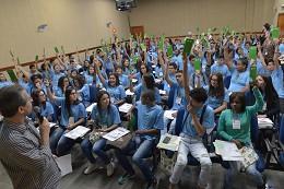 Em setembro, o estudantes escolheram a violência contra a mulher como tema do projeto PJ Minas para 2018