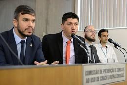 Comissão de Prevenção e Combate ao uso de Crack e outras Drogas - debate sobre a proibição da publicidade de bebidas alcoólicas no Estado