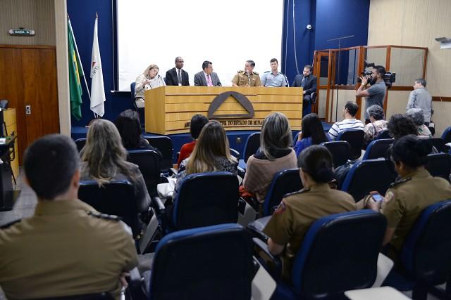 A discussão participativa do PPAG desta quinta (9) abordou programas do Governo do Estado para a área de segurança pública