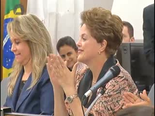 Dilma Rousseff participa de audiência na ALMG