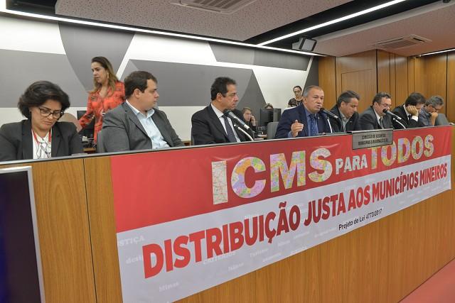 Comissão de Assuntos Municipais e Regionalização - debate sobre as regras de repartição do ICMS no Estado
