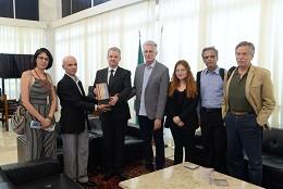 Presidente da ALMG recebe a Comissão da Verdade de Minas Gerais