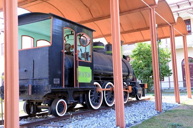 Matéria Especial Ferrovias Mineiras - Iphan - Casa do Conde - Locomotiva. Maria-fumaça.