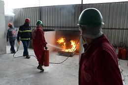 Treinamento Prático de Combate a Incêndio