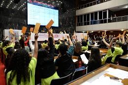 Sugestões votadas pelos estudantes podem receber recursos nas peças orçamentárias do Estado - Arquivo ALMG