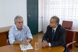 Comissão de Defesa dos Direitos da Pessoa com Deficiência - visita à Secretaria de Estado de Educação