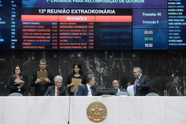 Outro projeto aprovado em 1° turno reestrutura carreiras na Fundação João Pinheiro (FJP)