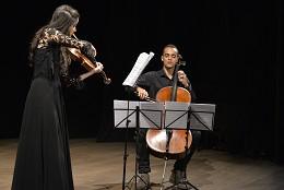 Segunda Musical - Quarteto de Cordas Rondeau, Joice Coutinho (viola) e Breno Augusto (violoncelo)