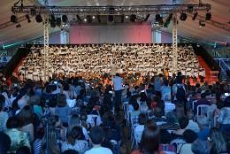 Este ano a Cantata de Natal da Assembleia reuniu 23 corais; mais de mil pessoas vieram assistir