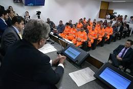 Comissão de Segurança Pública - homenagem aos bombeiros militares e à Convenção Batista Mineira de Minas Gerais pela atuação em Brumadinho