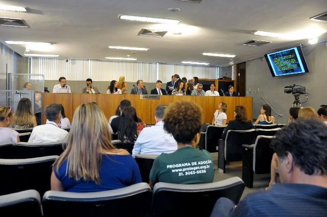 O objetivo da audiência foi debater o laudo sobre as condições sanitárias e de trato dos animais mantidos e comercializados no Mercado Central de BH