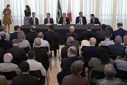 Reunião de apresentação do Plano Estratégico Ferroviário
